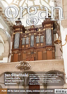 Cover of Organ magazine current issue